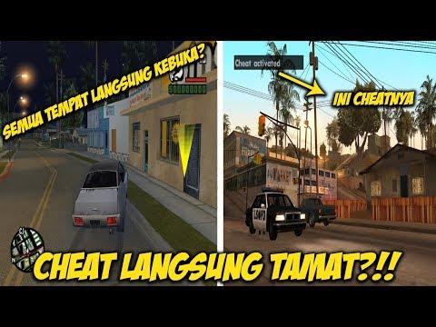 TERUNGKAP! CARA CHEAT LANGSUNG TAMAT GTA SAN ANDREAS