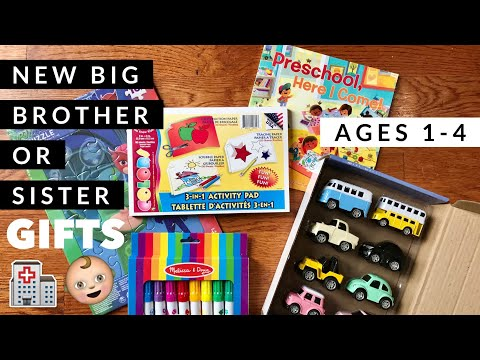 Gift Ideas for 1-4 Year Olds | New Big Brother or Sister Gifts | Amazon, Target, Dollar Tree