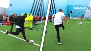 Darren Bent, Roman Kemp and Vick Hope | Soccer AM Pro AM