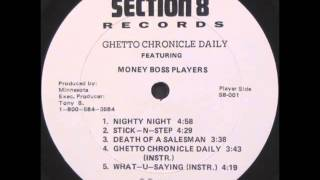 Money Boss Players - What U Saying (Instrumental)