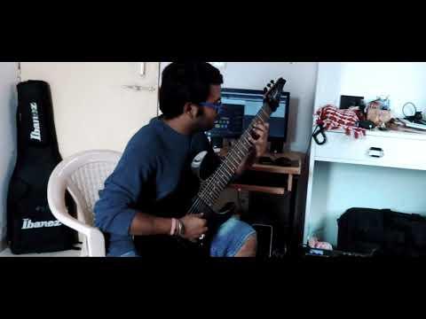 "Animals as leaders - brain dance - ""clean acoustic part"" - Guitar Cover (Aakash Halder)"