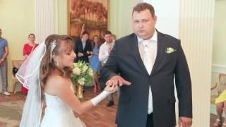 Свадьба 15 июля 2016 г. Наталья и Роман. Регистрация. ( видеограф Александр т. 8-923-285-00-69 )