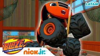 Clase de Física con Blaze - parte 3 | Blaze and the Monster Machines