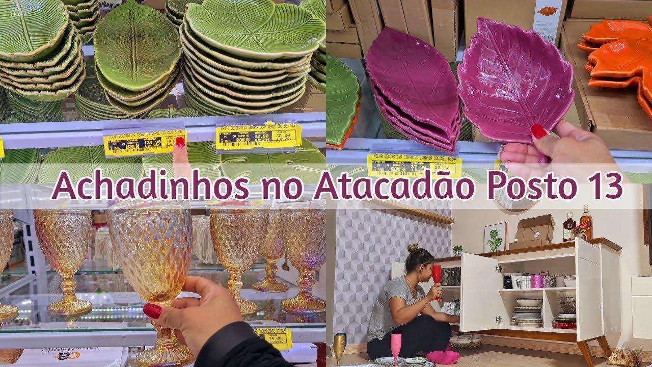 ACHADINHOS NO ATACADÃO POSTO 13 EM SÃO GONÇALO  + SÁBADO EM CASA FAZENDO A LIMPA NO BUFFET