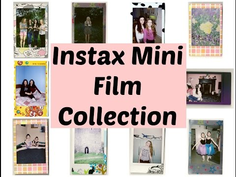 Instax Mini Film Collection 🌸