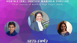 ARTh- Justice (Dr) Manjula Chellur, Chief Justice of Bombay (retired)