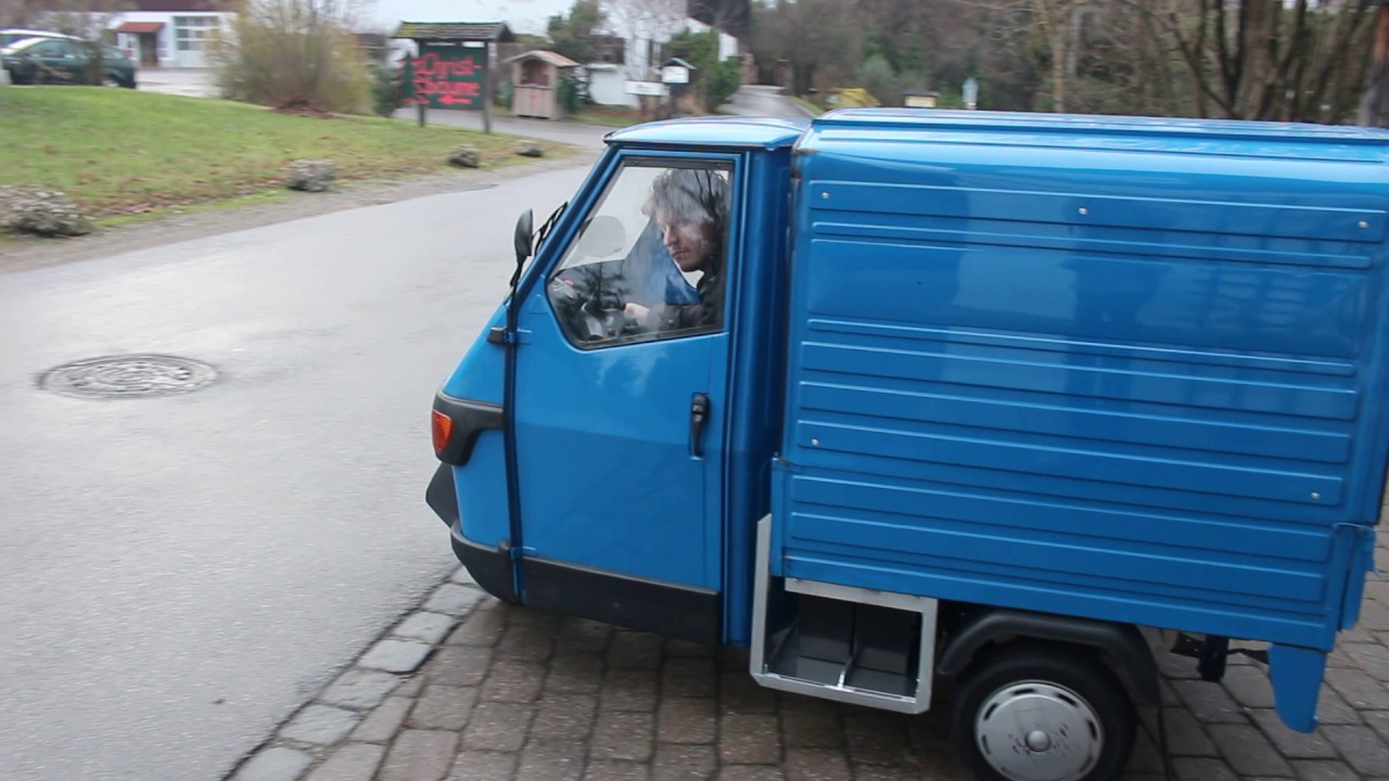 elektro umbau piaggio ape 50 electric kommt gefahren http ape youtube. Black Bedroom Furniture Sets. Home Design Ideas