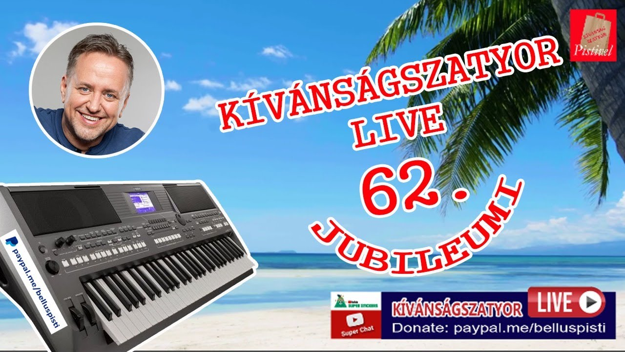 KÍVÁNSÁGSZATYOR LIVE 62.