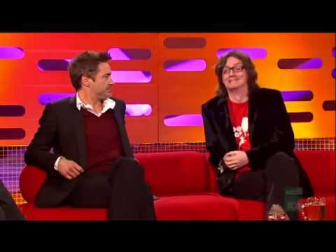 The Graham Norton Show  2009 - S6x11 Ed Byrne, Robert Downy Jnr, Will Young. Part 1