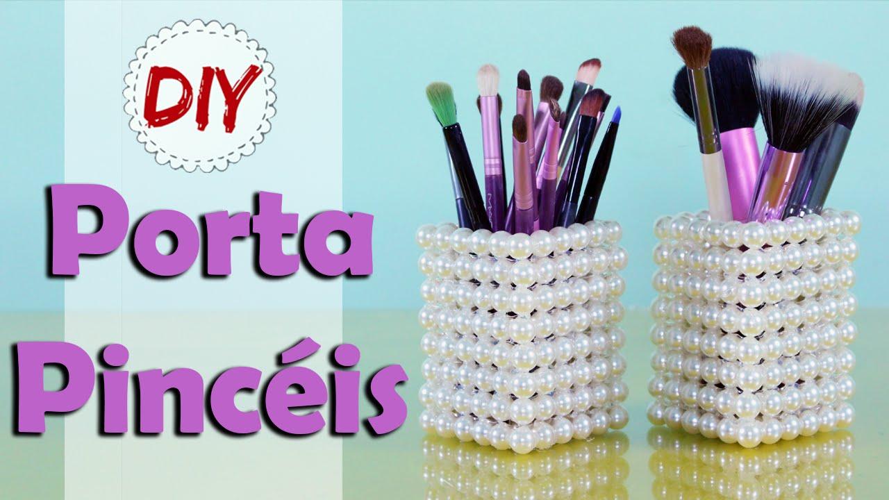 Fabuloso DIY: Porta Pincéis Elegante - Fácil, barato e Lindo por Coisas de  IX55