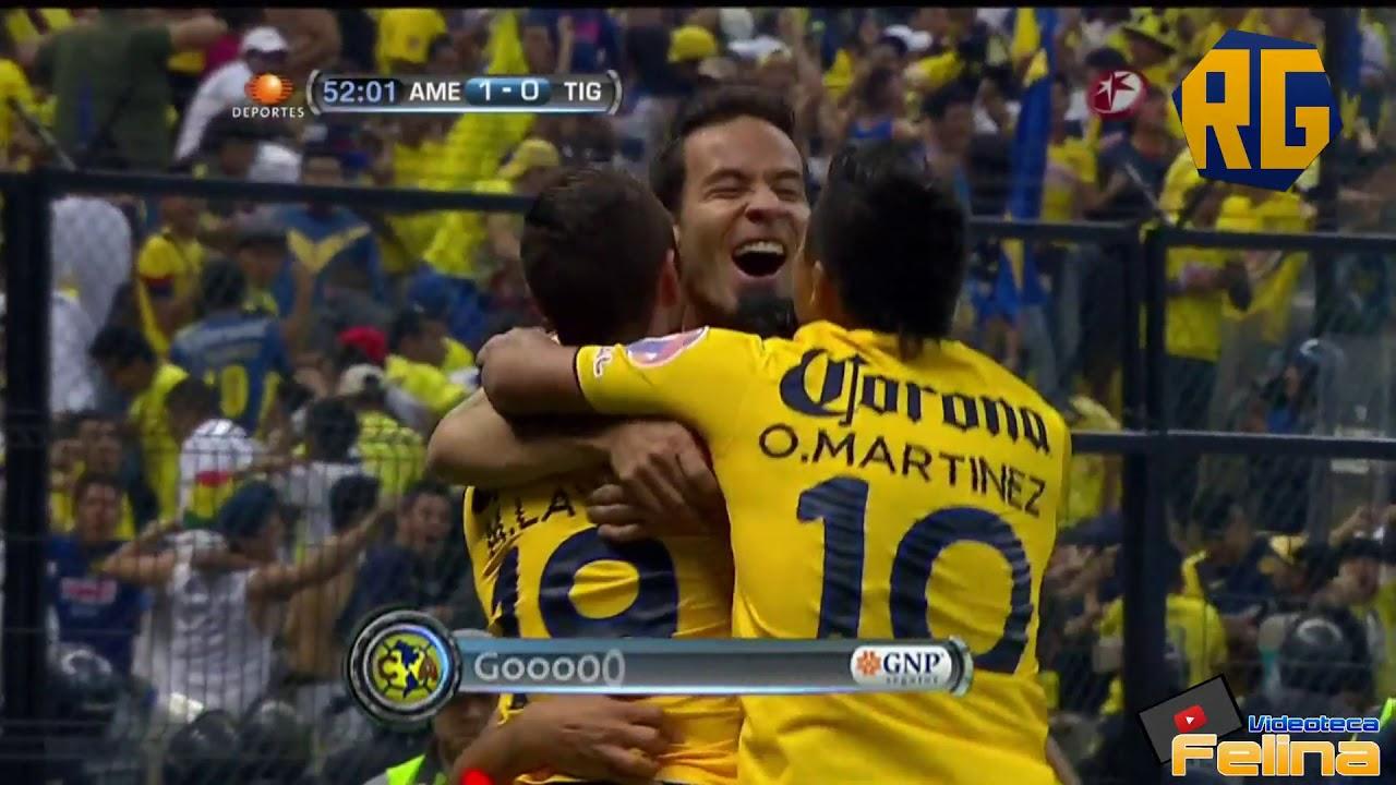 América Vs Tigres 1 1 Cuartos De Final Vuelta Apertura