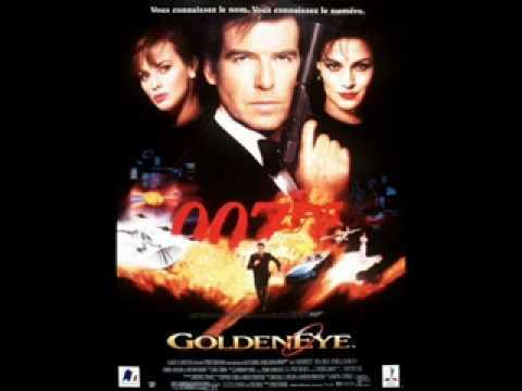 Golden Eye song --- James Bond