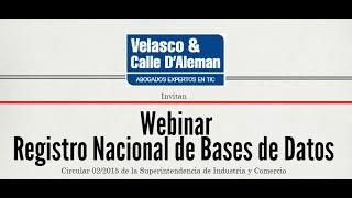Registro Nacional de Bases de Datos: Circular 02 Superintendencia de Industria y Comercio SIC