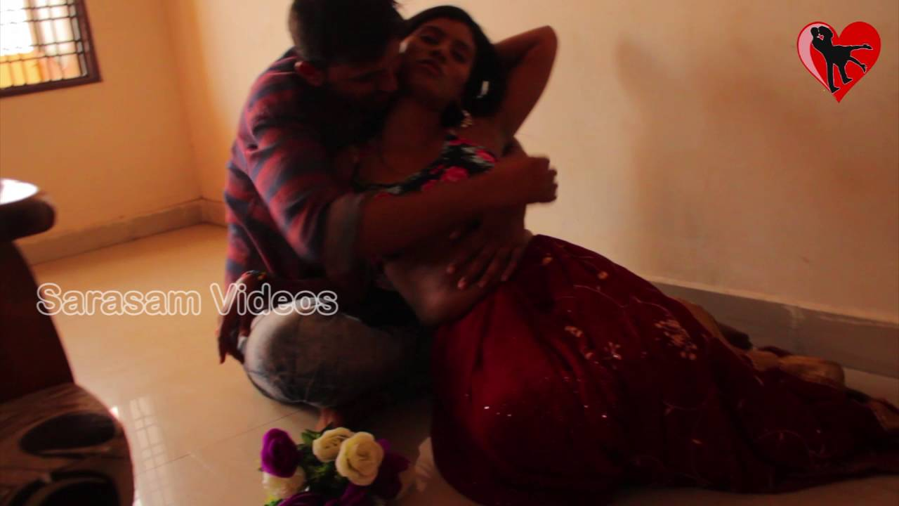 Download Indian beautiful housewife with husband friend in bedroom | Telugu romance | Sarasam Videos