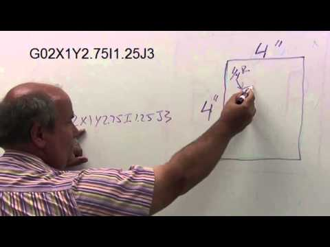 Explaining I and J Codes (Machine Tool)