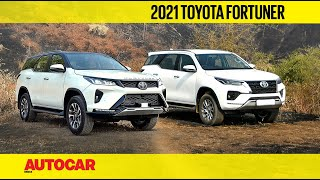 2021 Toyota Fortuner review - More power, more features for more money | First Drive | Autocar India