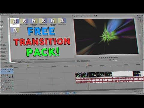 SONY VEGAS PRO TRANSITION PACK!! ft. Fuzzy