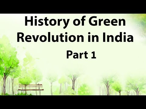 an analysis of green revolution The green revolution (a term used for rapid increases in wheat and rice yields in   of india during the more recent period of analysis, the usc of fertilizers and.