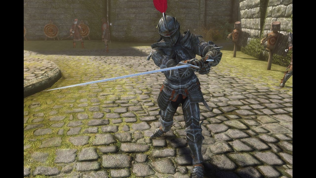 Skyrim SE Gothic Knight Armor Quick Showcase YouTube