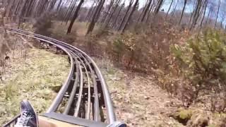 Trapper Slider - Die Sommerrodelbahn im Fort Fun