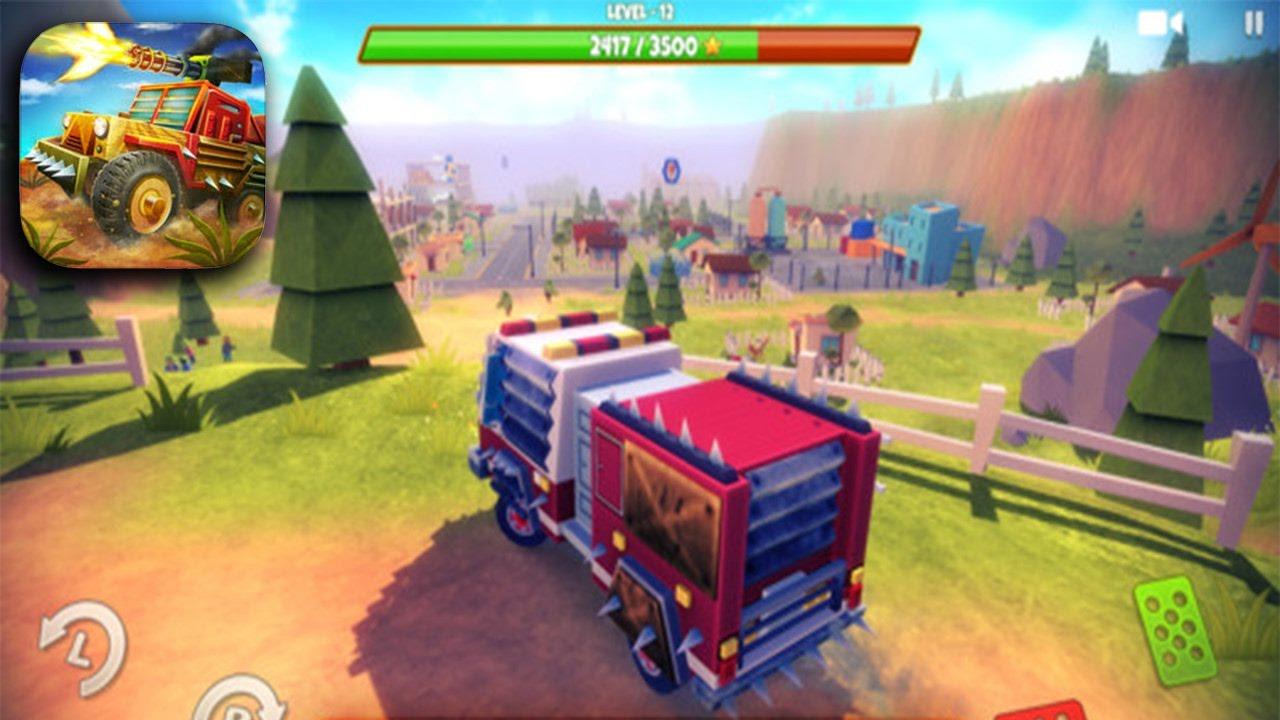 ZOMBIE SAFARI Gameplay (iOS Android) - YouTube