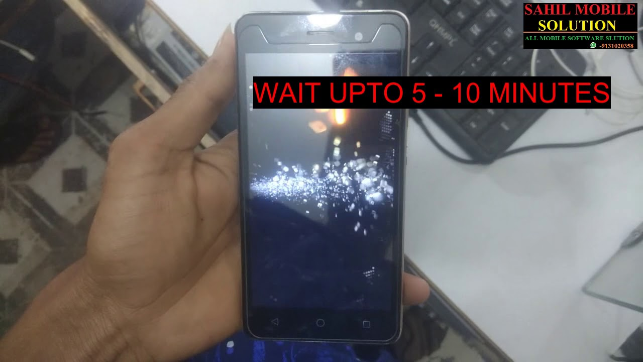 micromax Q352 hard reset and hang on logo solved