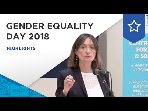 GENDER EQUALITY DAYS 2018   The Centre of Excellence for Management & Society (CEMAS)