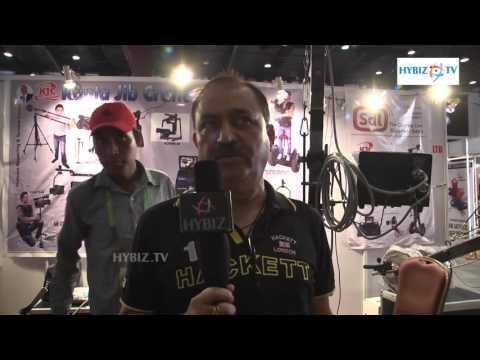 Sunil Walia Director of Kanta JIB Crane - Photo Expo 2016 - hybiz