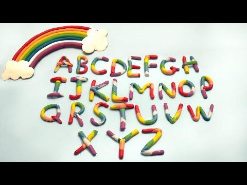 Play Doh Rainbow Alphabet | Play Doh ABC | ABC Song | Alphabets Phonics Song