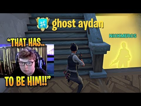 The Games That Made Ghost Aydan FAMOUS in Fortnite *INTENSE 1v1s vs NICKMERCS*
