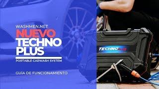¿CÓMO FUNCIONA EL EQUIPO TECHNO+PLUS? Guía de Funcionamiento /Washmen