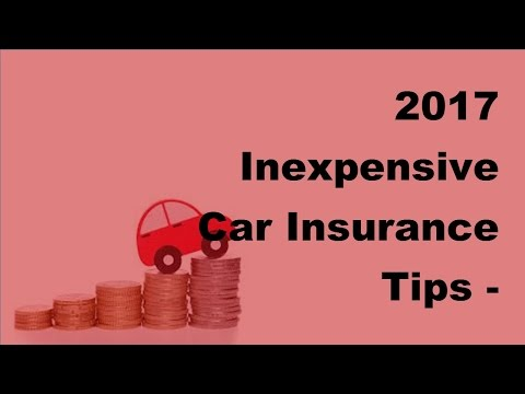 2017 Inexpensive Car Insurance Tips |  Generating Fruitful Leads for Auto Insurance