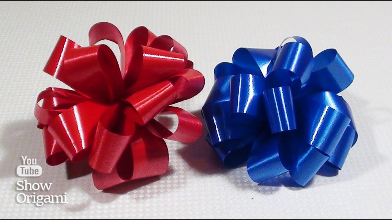Бантик на подарок своими руками фото 732