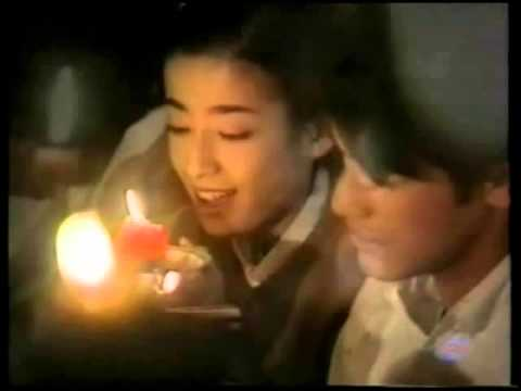 聖誕夜の奇跡-Takeshi Kaneshiro &  Rie Miyazawa sing a Christmas song in japanese