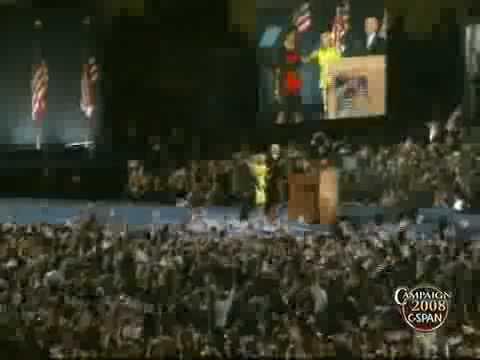 C-SPAN: President-Elect Barack Obama Victory Speech (Full Video)
