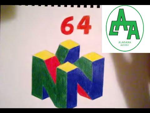 Drawing Nintendo 64 Logo Youtube