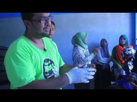 Edukasi Pemilahan dan Pengolahan Sampah Oleh Bang Kemal