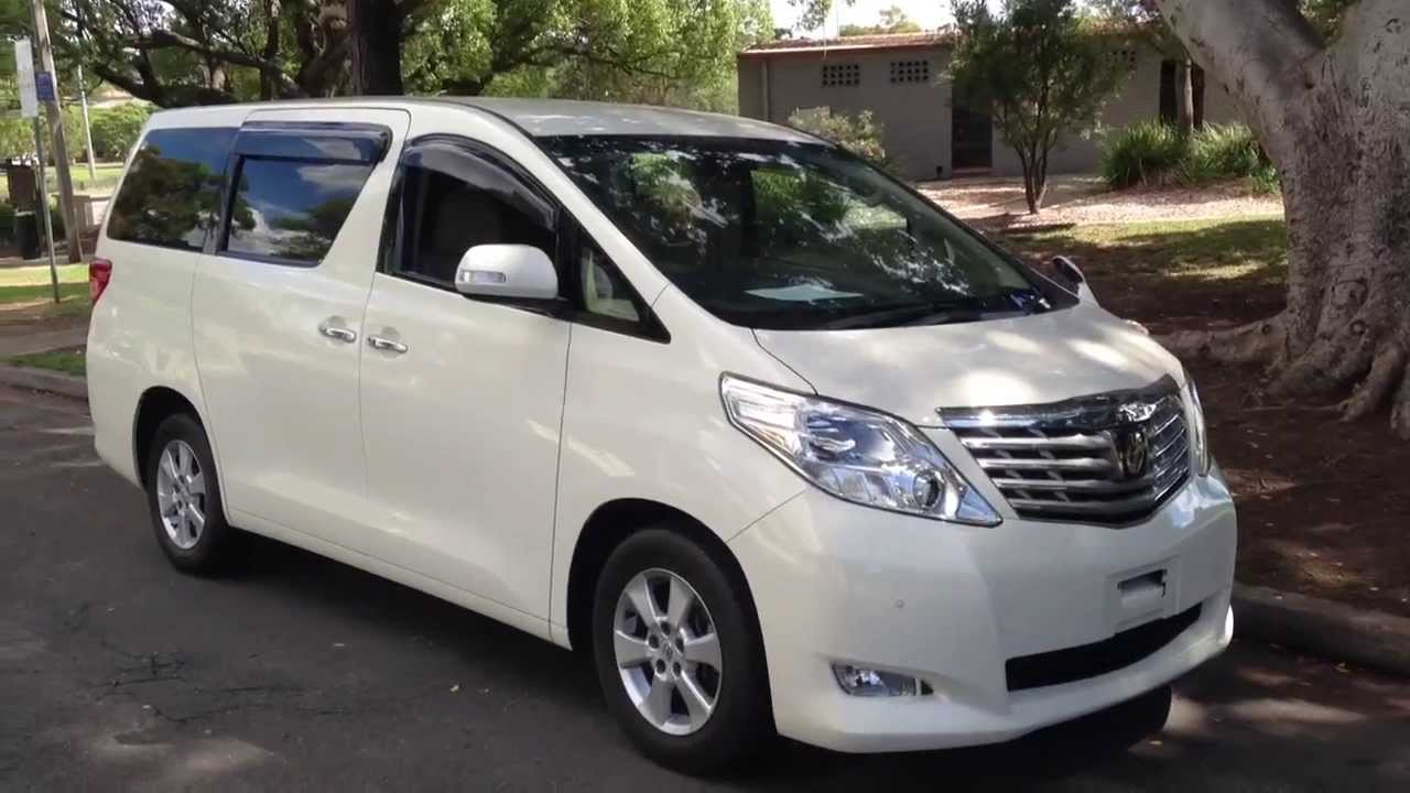 Toyota Alphard 200/2009 Leather Edition Luxury People