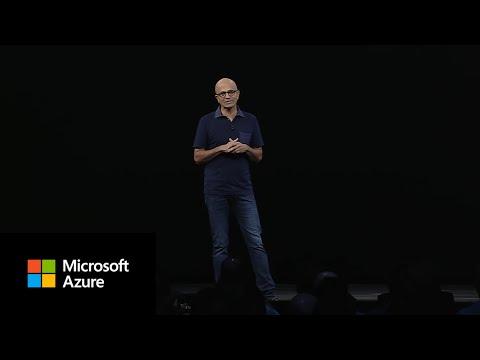 Satya Nadella Announces Azure Arc   Microsoft Ignite 2019
