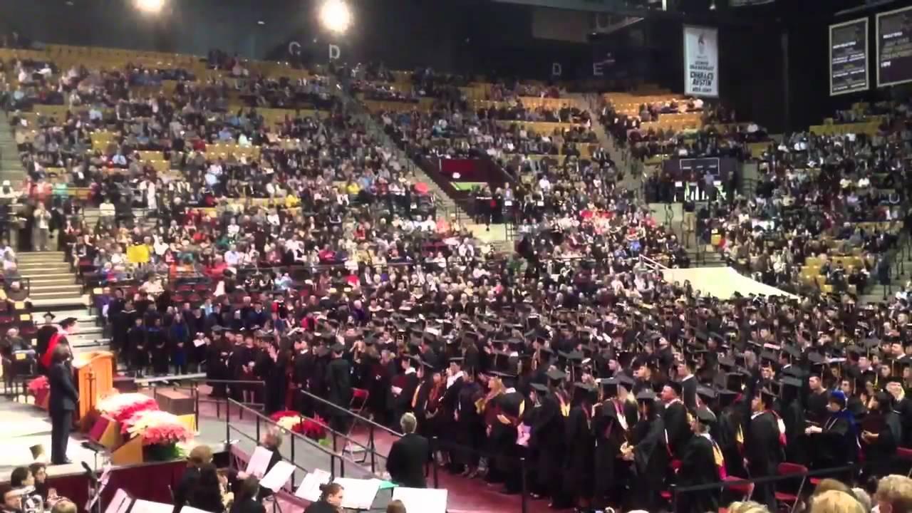 Texas State University Ring Ceremony