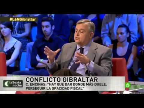 Tania Sánchez sobre Gibraltar en La Sexta Noche