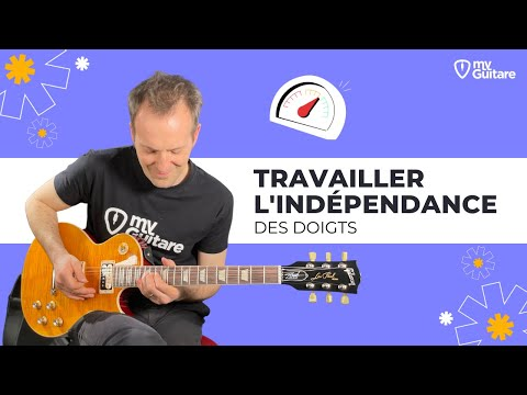 exercices pour l 39 ind pendance des doigts cours de guitare d butant youtube. Black Bedroom Furniture Sets. Home Design Ideas