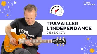 Exercices pour l'indépendance des doigts - Cours de guitare débutant