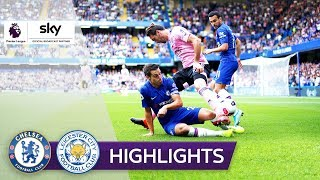 Chelseas Fehlstart perfekt! | FC Chelsea - Leicester City 1:1 | Highlights - Premier League 2019/20