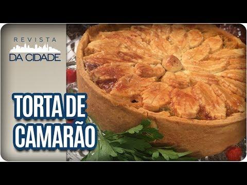 Receita De Torta De Camarão - Revista Da Cidade (11/01/2018)