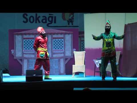 21 06 2015 ramazan sokağı 5  gün renkli tebeşir tiyatro gurubu hacivat karagöz