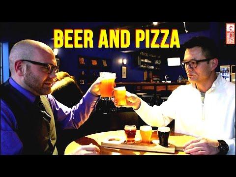 Best Brewed Beer in Busan, Korea (Abruzzi Pizza)