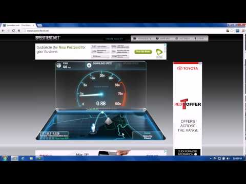 How to check your etisalat internet connection speed in UAE