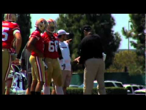 49er Players Talk About Head Coach Jim Harbaugh