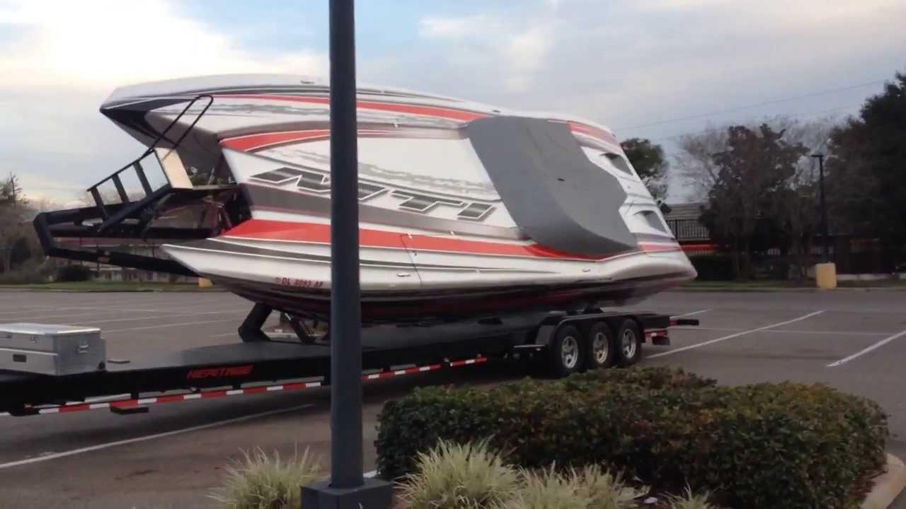 Cigarette Boats For Sale >> 36 ft MTI BOAT - YouTube